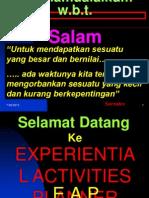 Experiencial Activity Planner