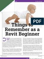 Beginners Tips for Revit