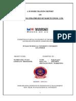 Marketing Stratregies of Maruti Udyod Ltd.(Kp)