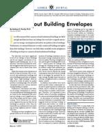 1.09.2011- Myths About Building Envelopes