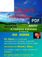 5 S AND SIX SIGMA