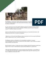 Pakistan Taliban Declares War on Myanmar