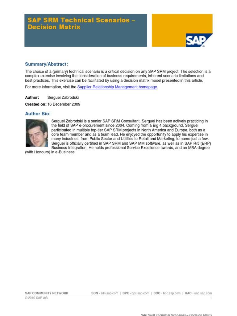 SAP SRM vs SAP MM | Ibm Db2 | Ibm System I