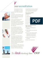 exor accreditation pdf