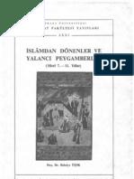 75.İslamdan Dönenler ve Yalancı Peygamberler-bahriye üçok-603