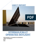 Hydraulically Operated Skylight Final Report