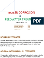 Boiler Corrosion & Feedwater Treatment