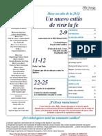 Semanario Católico Alfa y Omega. nº 796. 26 Julio 2012