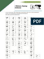 Suku Kata Bahasa Jepang (Katakana)