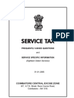 Servicetax Guidelines -English