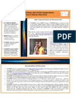 NAMHHR E-Newsletter Issue 6(Feb-May 2012)