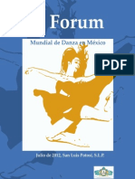 V Forum Mundial de Danza Ciad Slp 2012