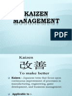 Kaizen+Management Final+Ppt