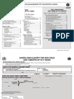 IMCI Chart Booklet