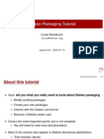 Debian Packaging Tutorial.en