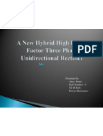 A New Hybrid High Power Factor Three Phase