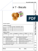Year 7 Unit 2 Biscuits Booklet