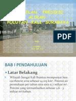 Pemodelan Prediksi Aliran Polutan Kali Surabaya