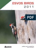 Lesvos Birds 2011