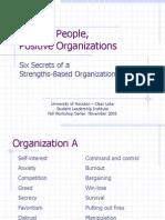 Positif Organization Positif People