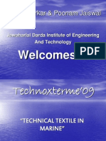 Technical Textile in Marine