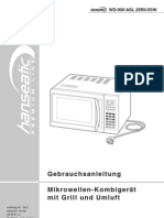 Hanseatic Microwelle WD-900ASL25
