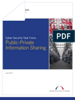Public-Private Information Sharing