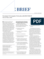 Securing U.S. Computer Networks With SECURE IT