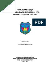 Program Kerja Kepala Lab Ipa Smp