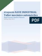 Recopilación PED Nave Industrial Ángel Fuentes Sánchez - Palencia
