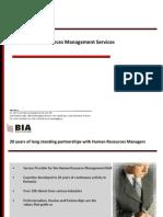 BIA - Company Presentation