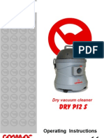 User Manual - Comac DRY P12 S