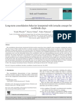 Isotache Long-term Consolidation 2012 Soils&Foundations