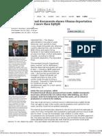 Internal Documents Shows Obama Deportation Proposa