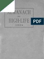 Tout-Bucarest. Almanach du high life de lIndépendance Roumaine 1924
