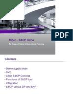Ciber SOP - Demo
