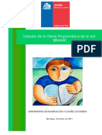 Oferta Programatica SENAME 2011