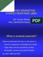 Auditory Brainstem Evoked Response (Abr)