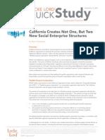CA Legal Structures 2011-12-12th_socialenterprise_brockmeyer