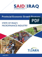 State of Iraq s Microfinance Industry 2011