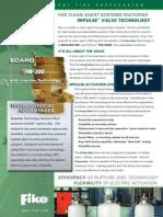 Fike Data Sheet_Impulse Valve Technology_Clean Agent Systems