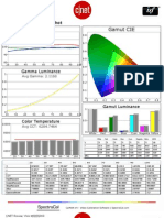 Vizio M553D0KD CNET review calibration report