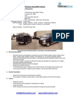 Ford E350 Super Duty SWAT Vehicle SITE Doc