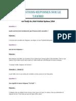 50 Questions-Réponse sur le tawhid
