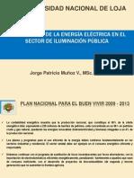 Uso Eficiente Energía en el Sector de Iluminación Publica del Ecuador