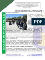 Boletin de Prensa 129