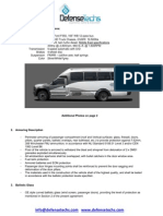 Bullet Proof B6 Ford F550 Luxury Bus Site Doc