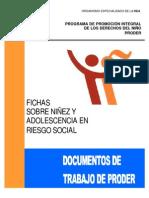 Ficha de niñez en riesgo OEA