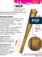 Behind the Olympic torch's design