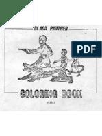 Black Panthers Coloring Book FBI Created